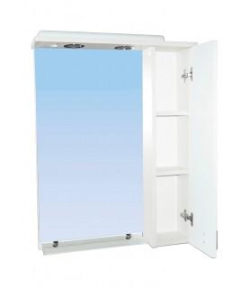 Зеркало 50 см Домино Плюс СШ-50х80 цвет венге