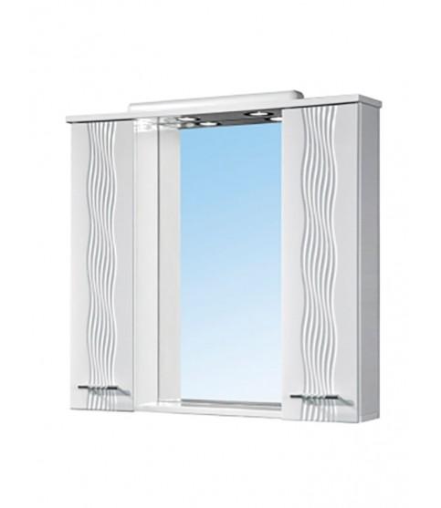 Шкафчик 55 см зеркальный ЗШ-55х70 настенный в ванную