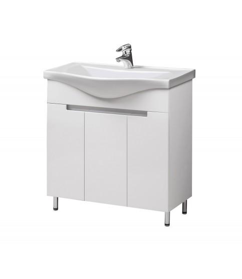 Шкафчик 41 см зеркальный ЗШ-41х70 настенный в ванную