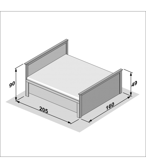 Universal M 60x90 — LED зеркало 60 см Италия