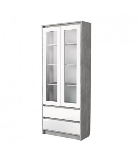 Шкаф 80 см зеркальный ЗШ-80x70 настенный в ванную