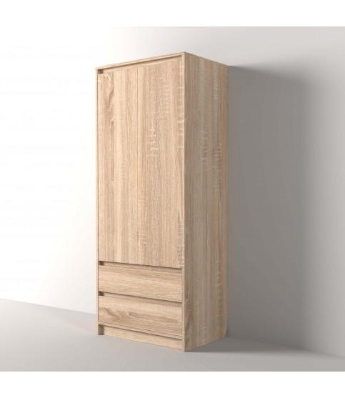Фокус 55 см П-55-к шкаф напольный с корзиной